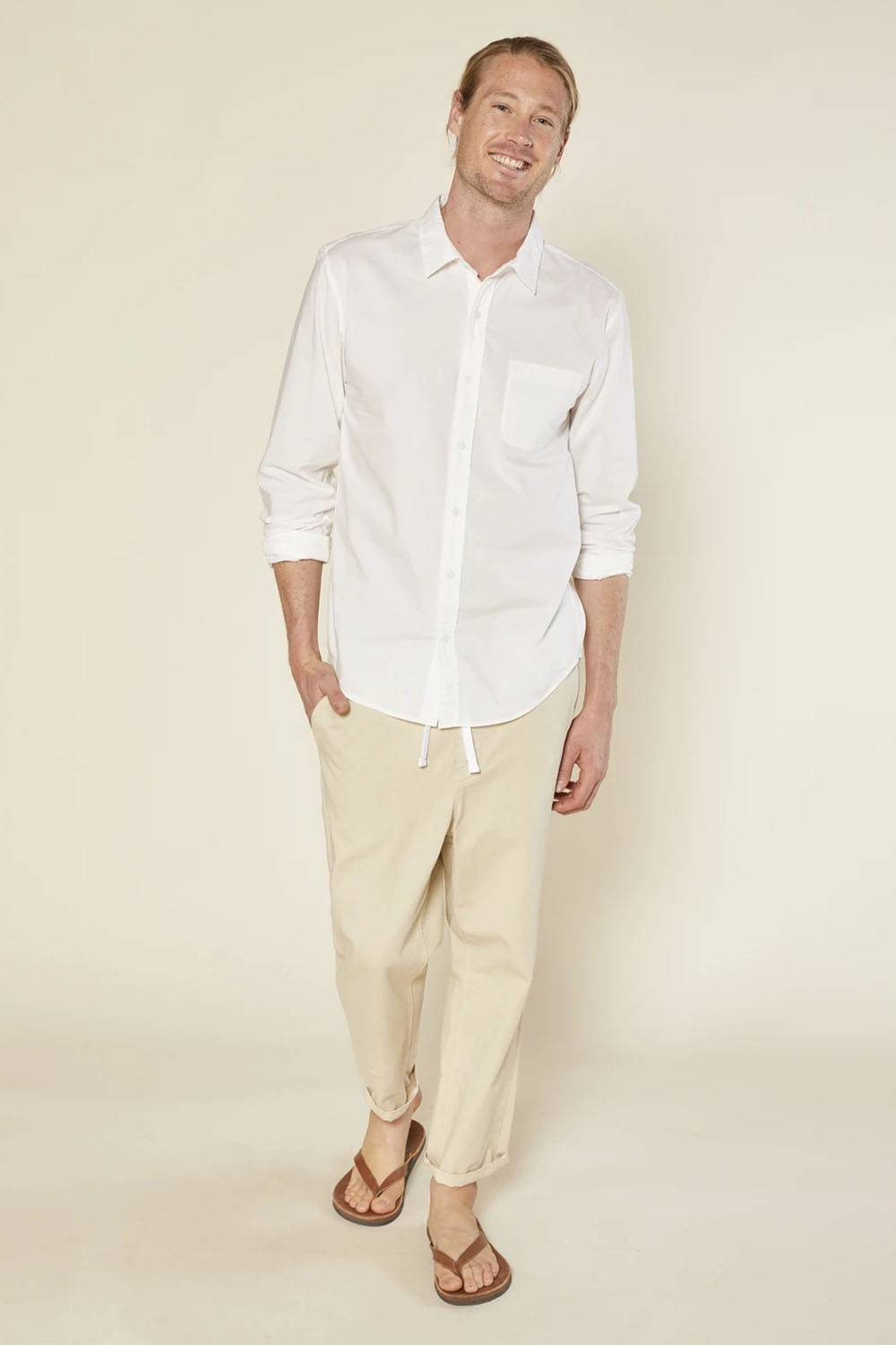outerknown men shirt american made