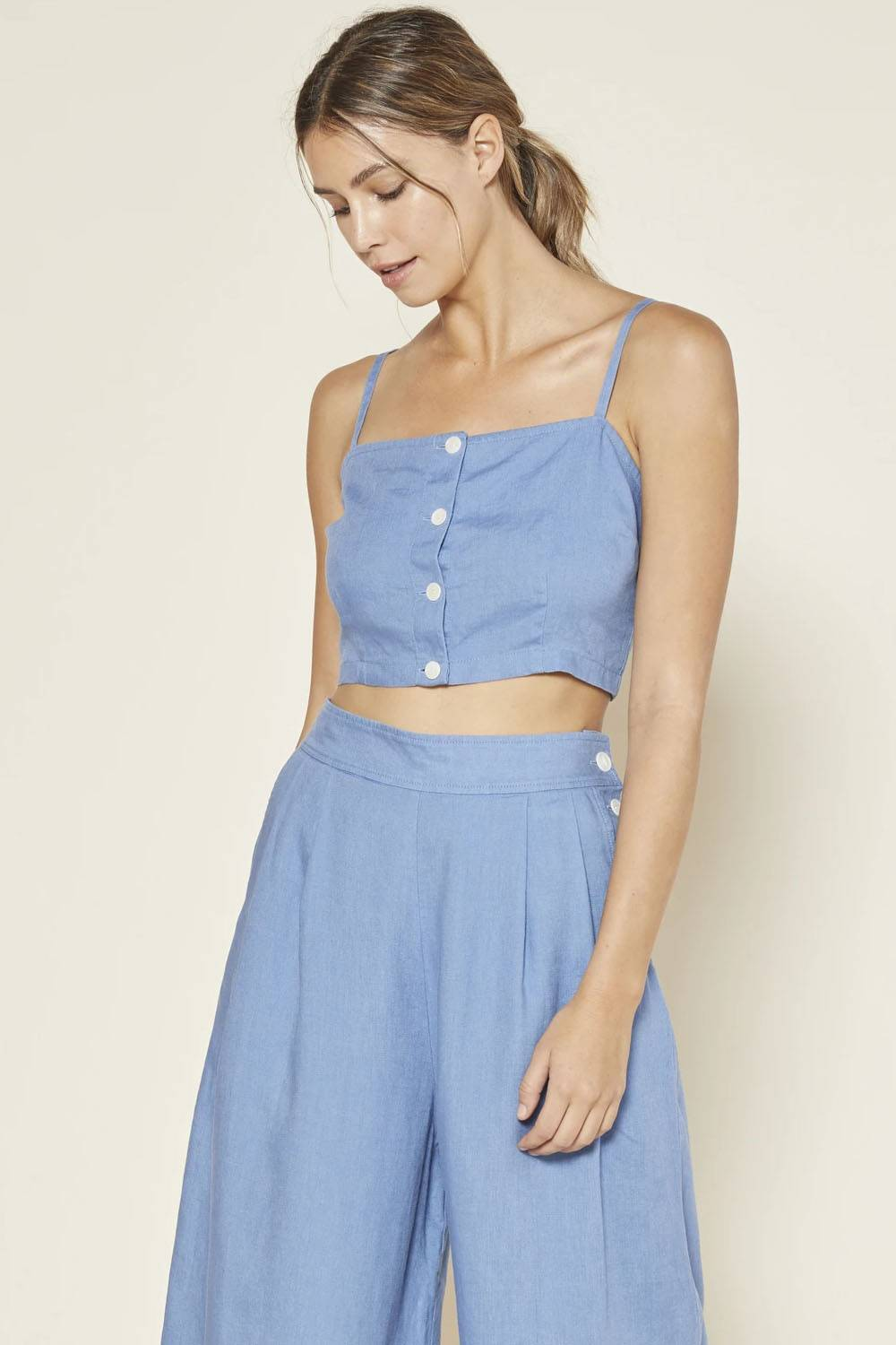 outerknown sustainable crop top