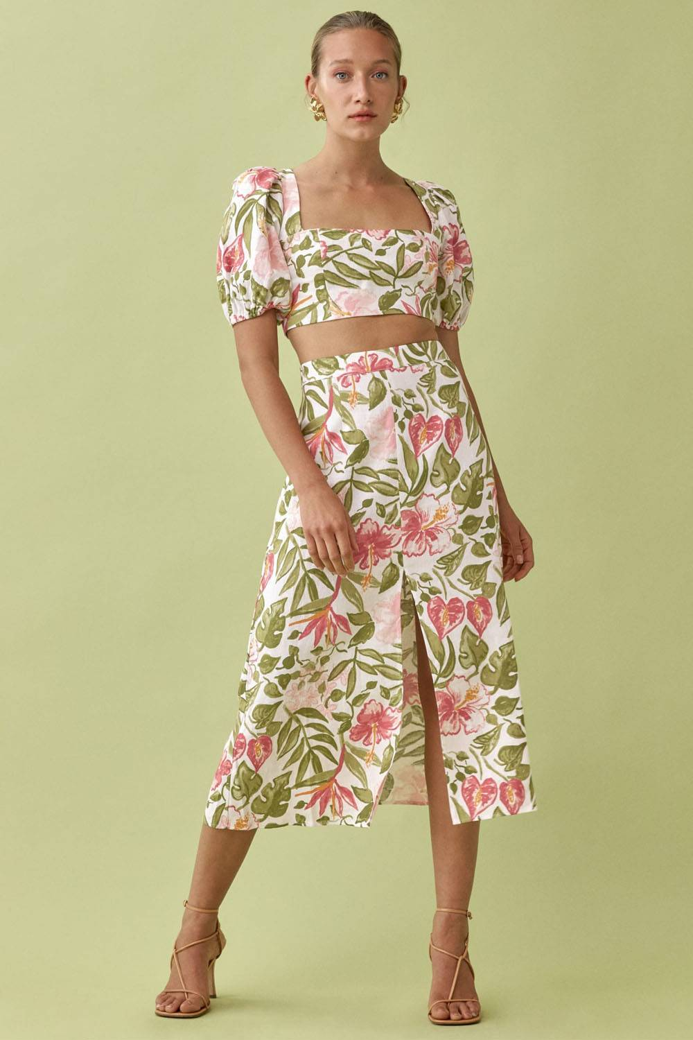 reformation cheap ethical crop top