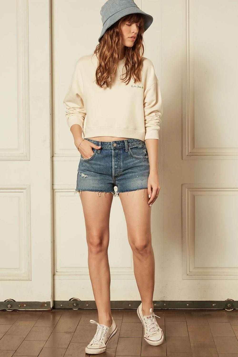 threads 4 thought jean shorts