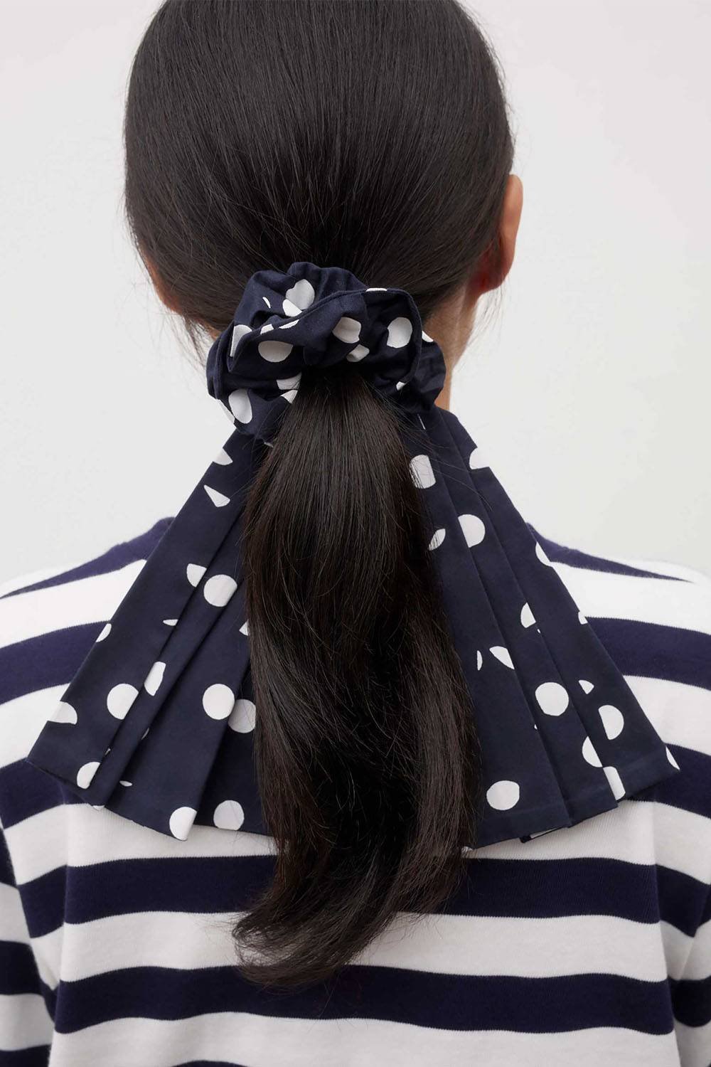 kowtow affordable sustainable scrunchie