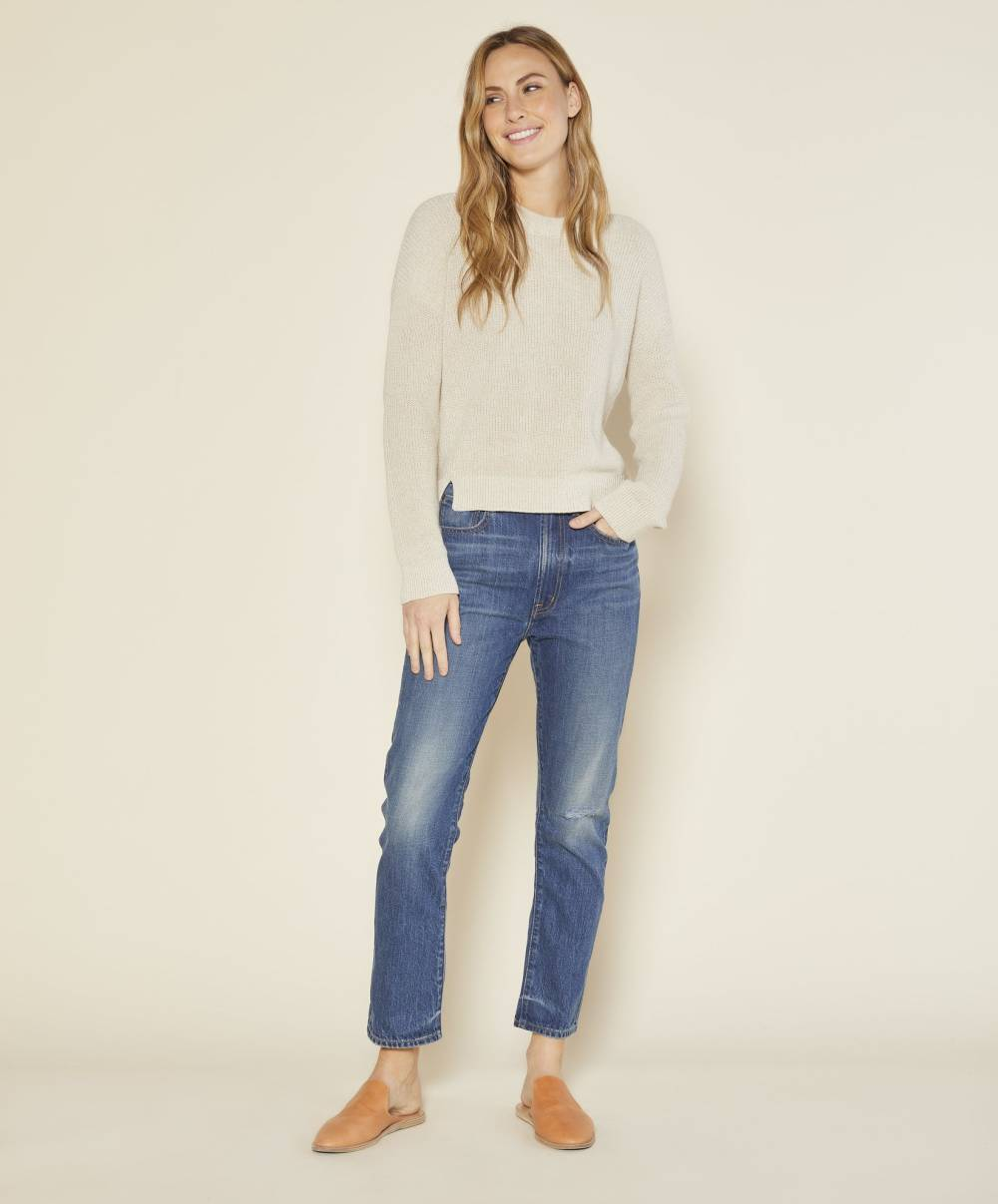outerknown sustainable affordable knitwear label