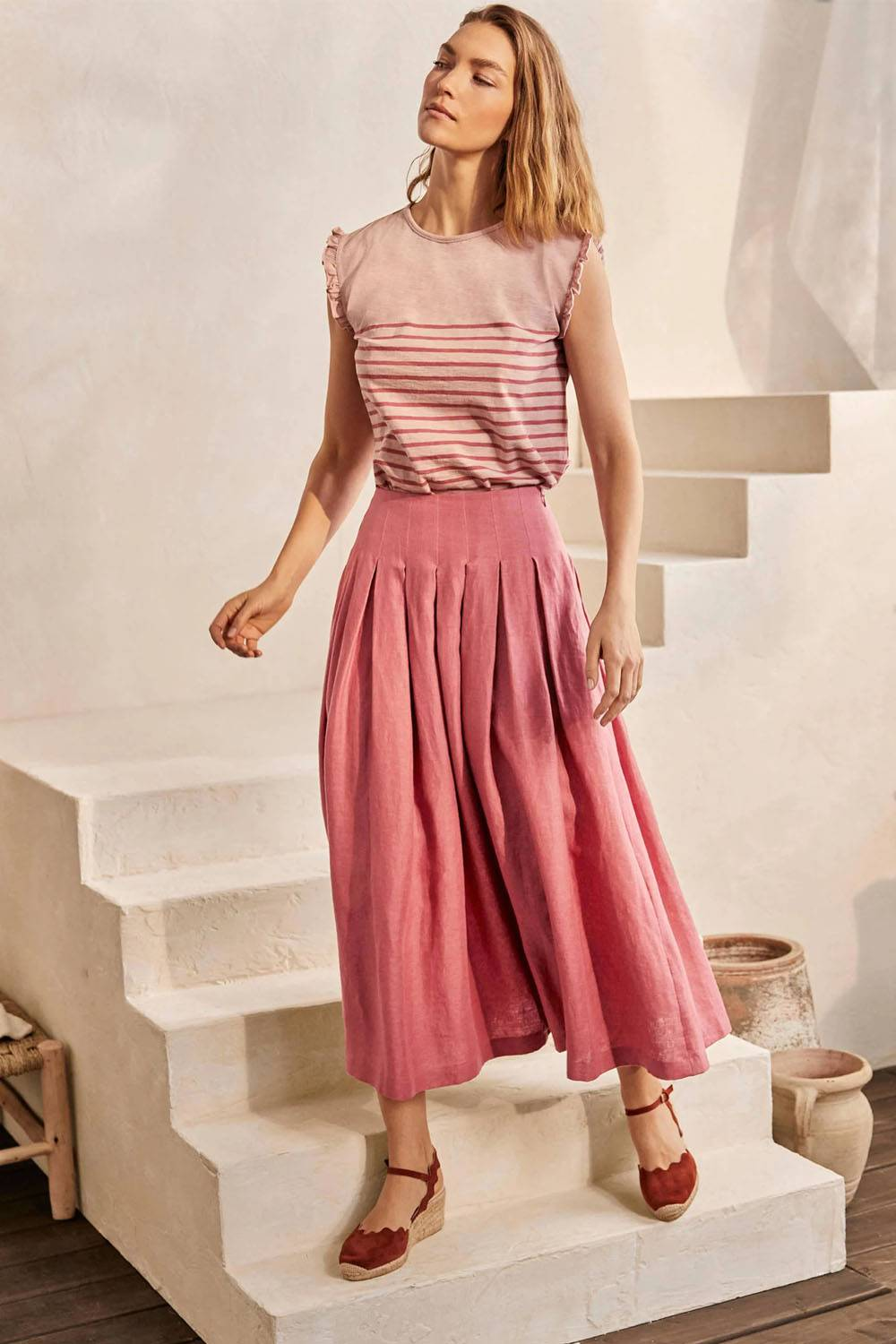 boden cheap sustainable maxi skirts