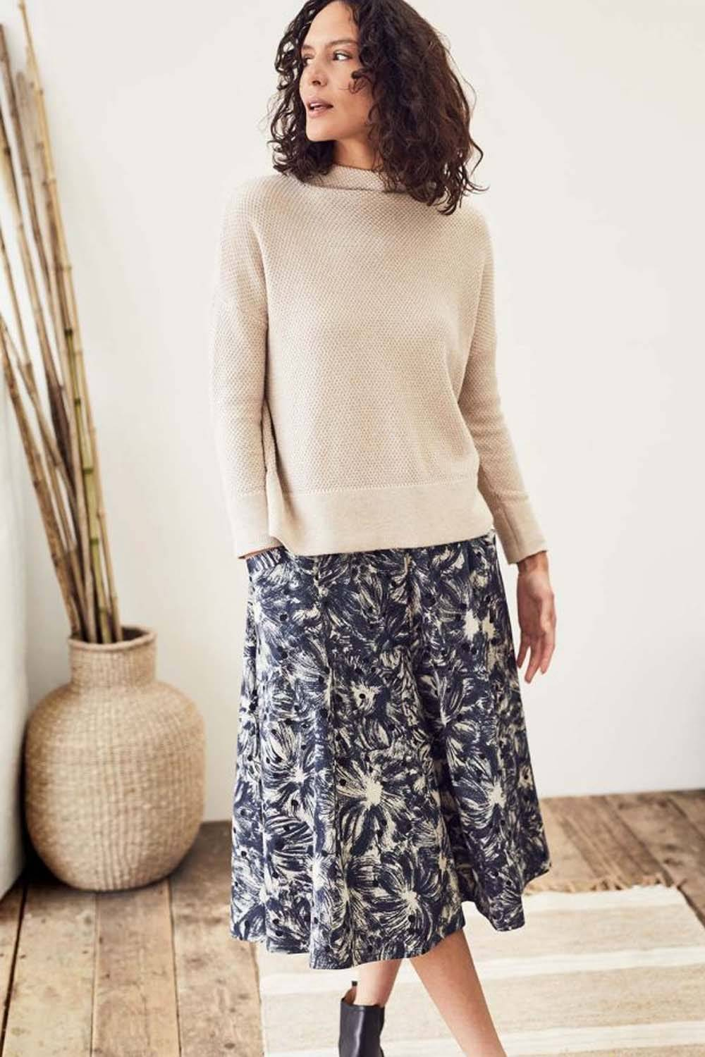 thought cheap sustainable maxi skirt