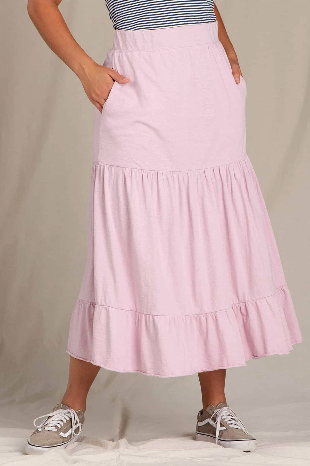 toad and co midi skirt
