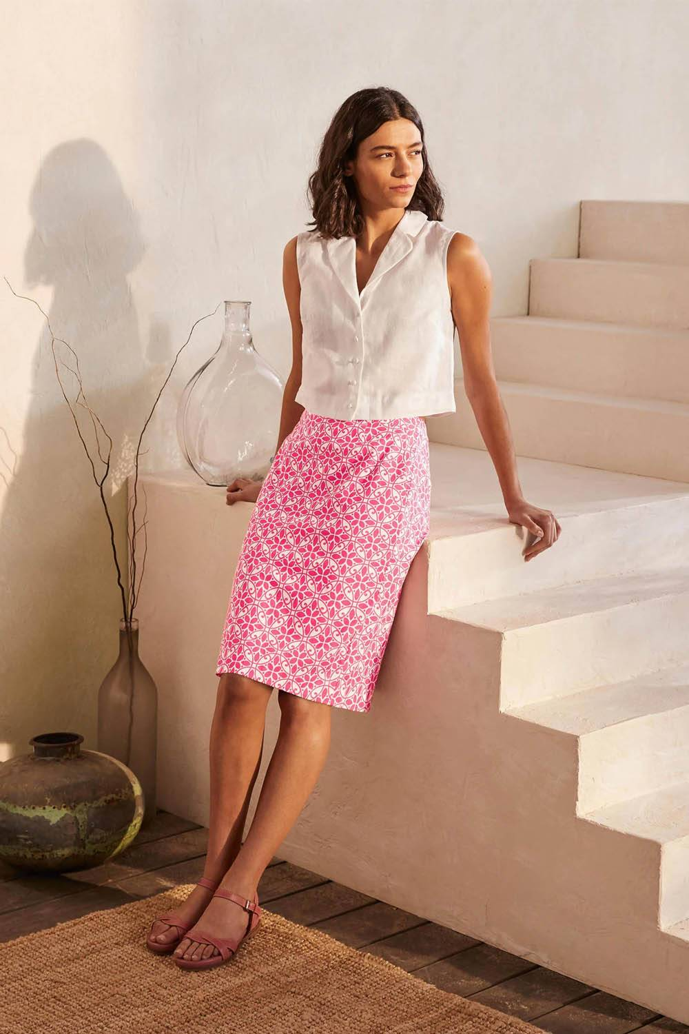boden sustainable cheap pencil skirt