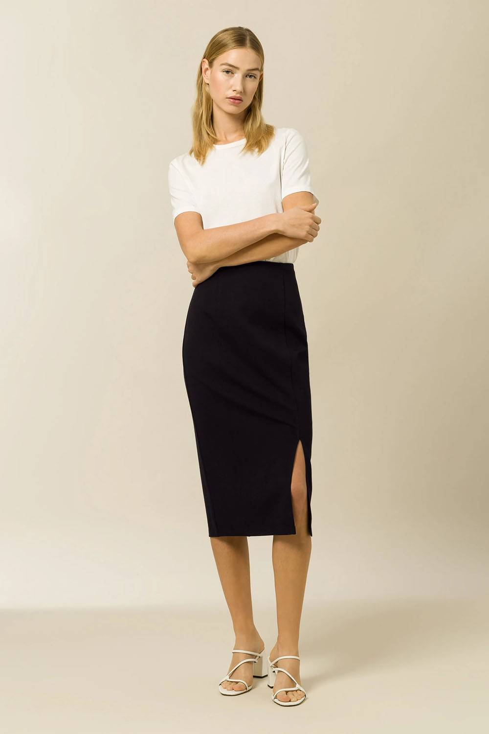 ivy and oak pencil skirt