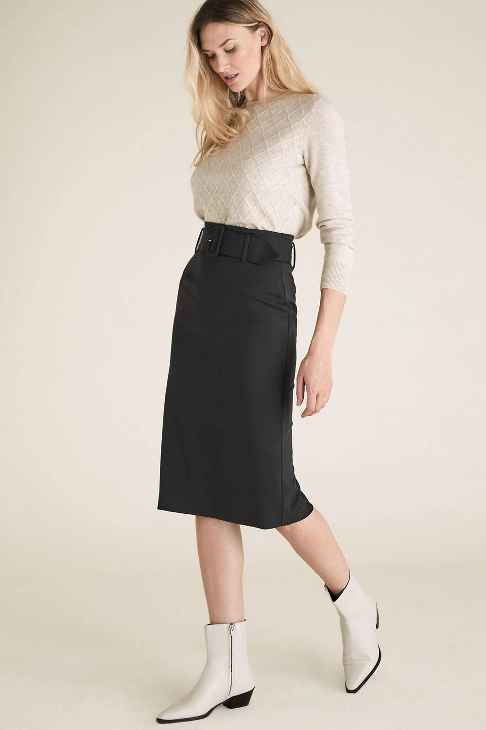 marks and spencer pencil skirt