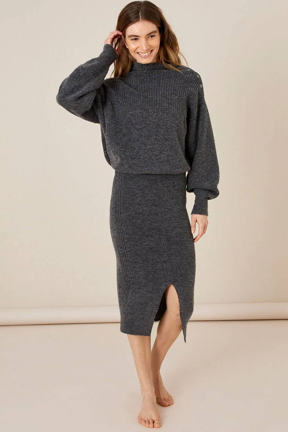 monsoon sustainable affordable pencil skirt