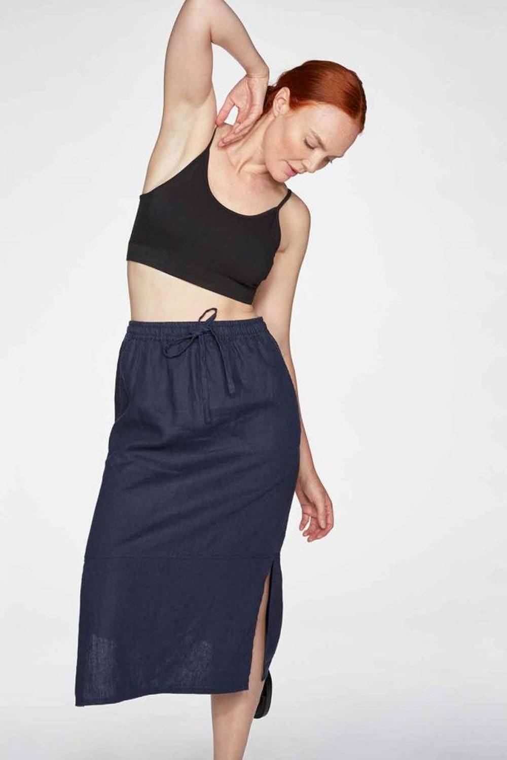 thought organic affordable pencil skirt