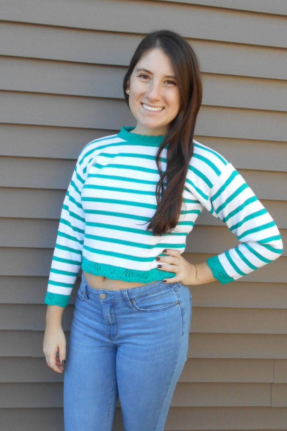 etsy vintage usa made sweater