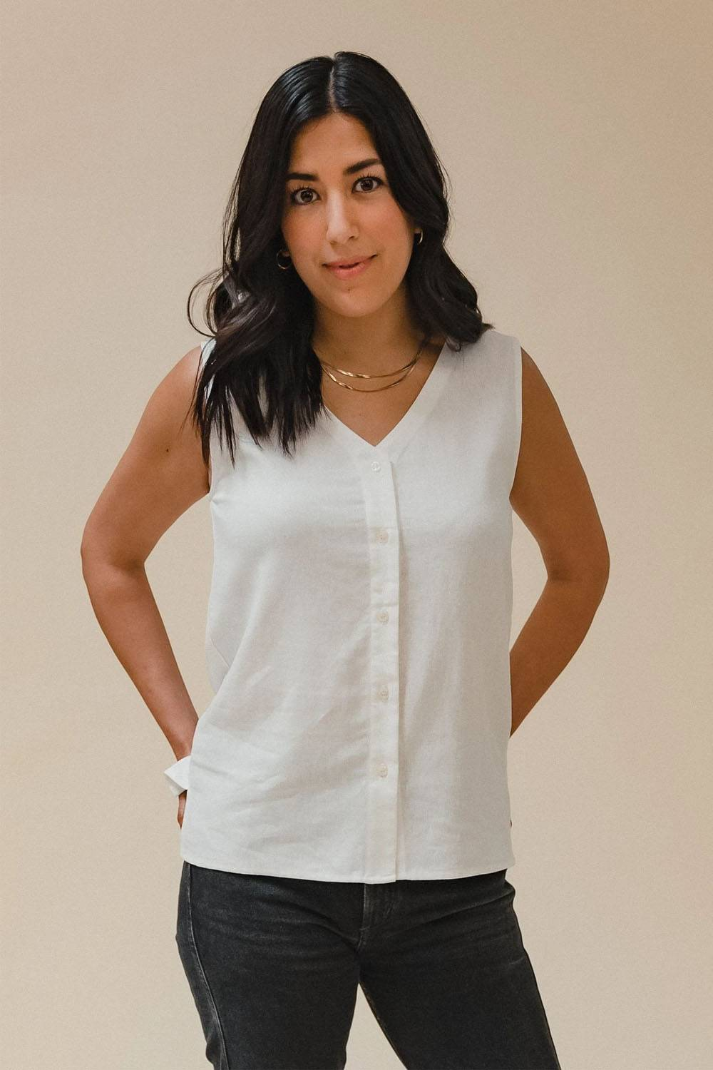 made trade tank top sustainable