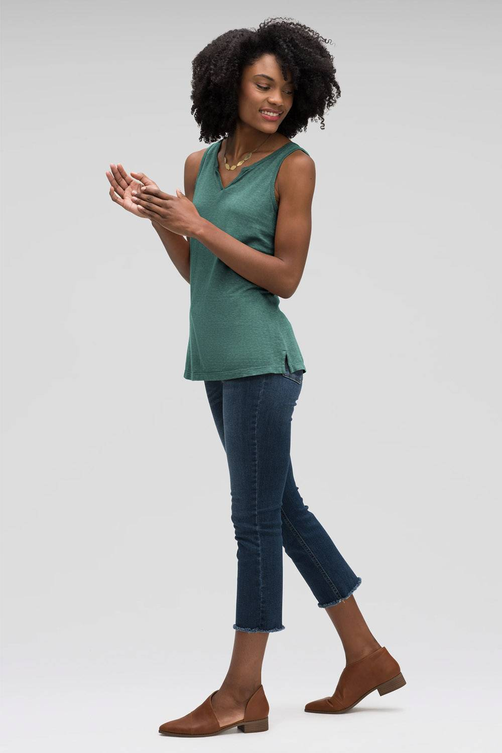 nau sustainable affordable tank top