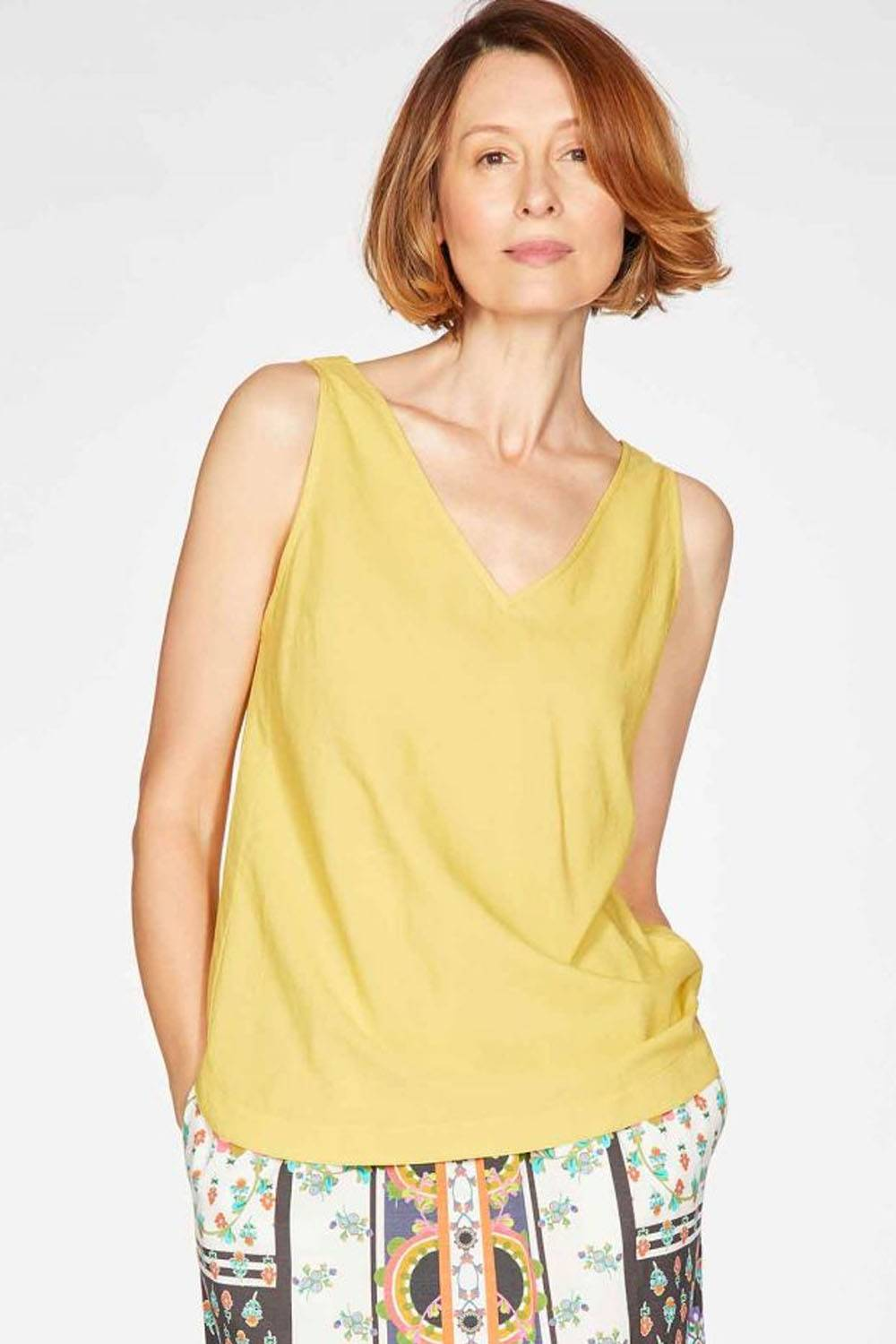 thought organic cotton tank top