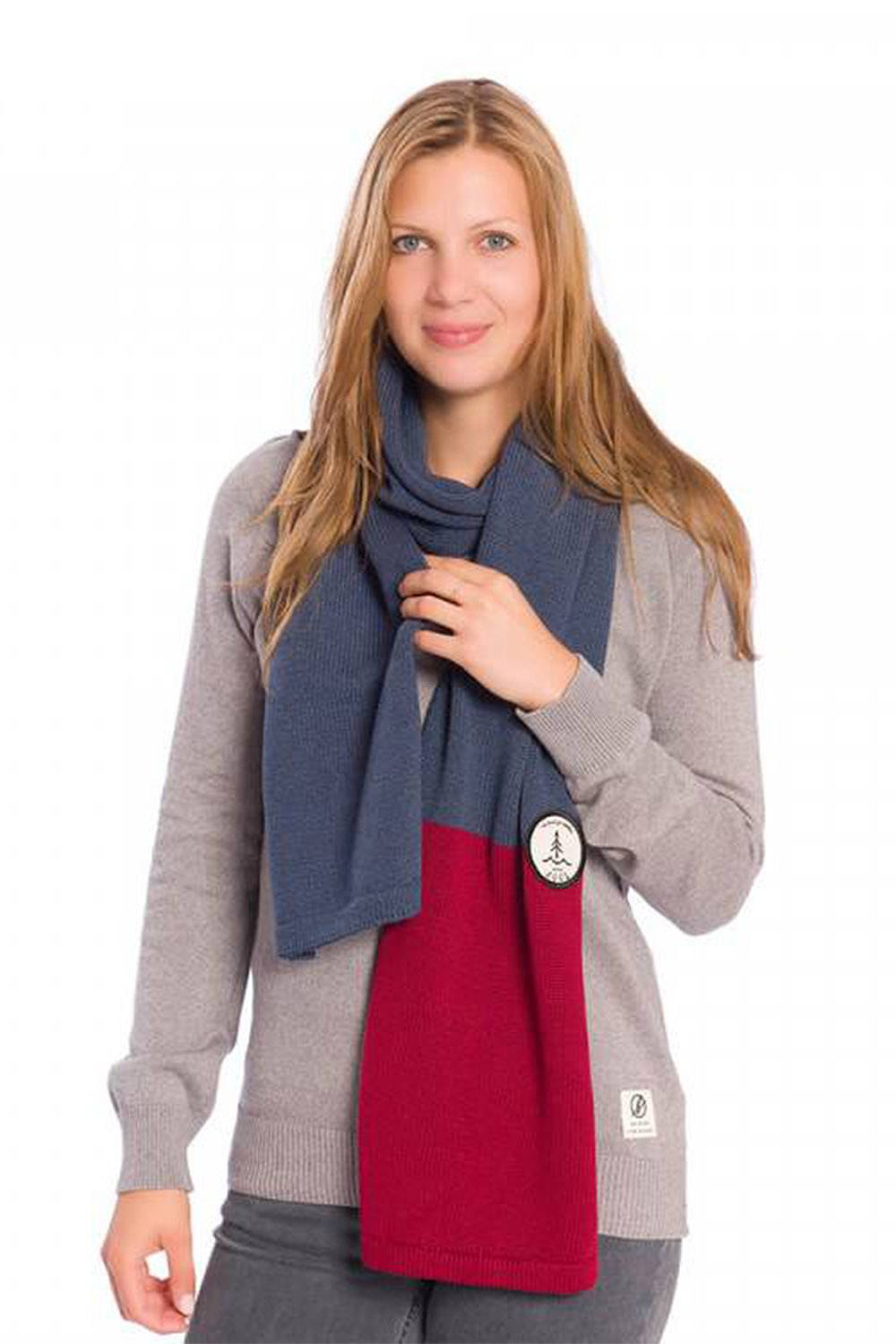 bleed clothing sustainable affordable vegan scarf