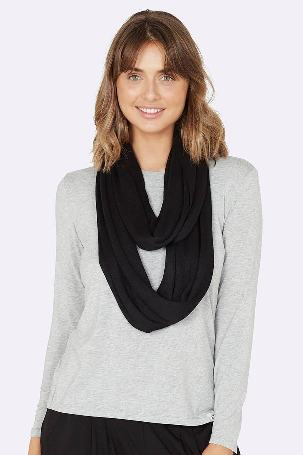 boody sustainable ethical cheap vegan winter scarf
