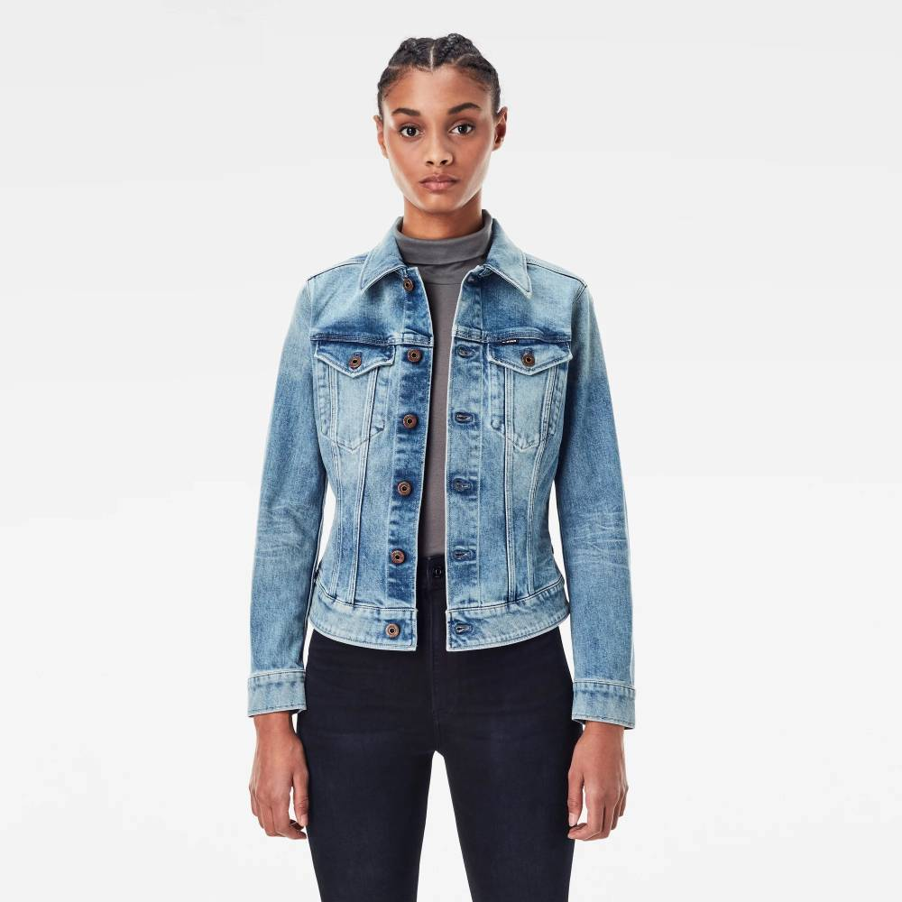 g-star raw women denim jacket