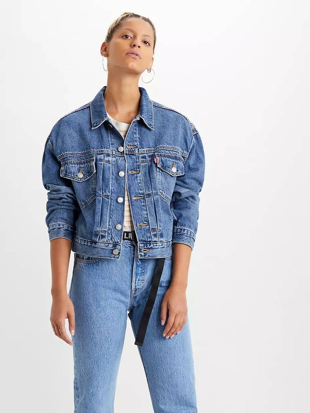 levis sustainable womens denim jacket