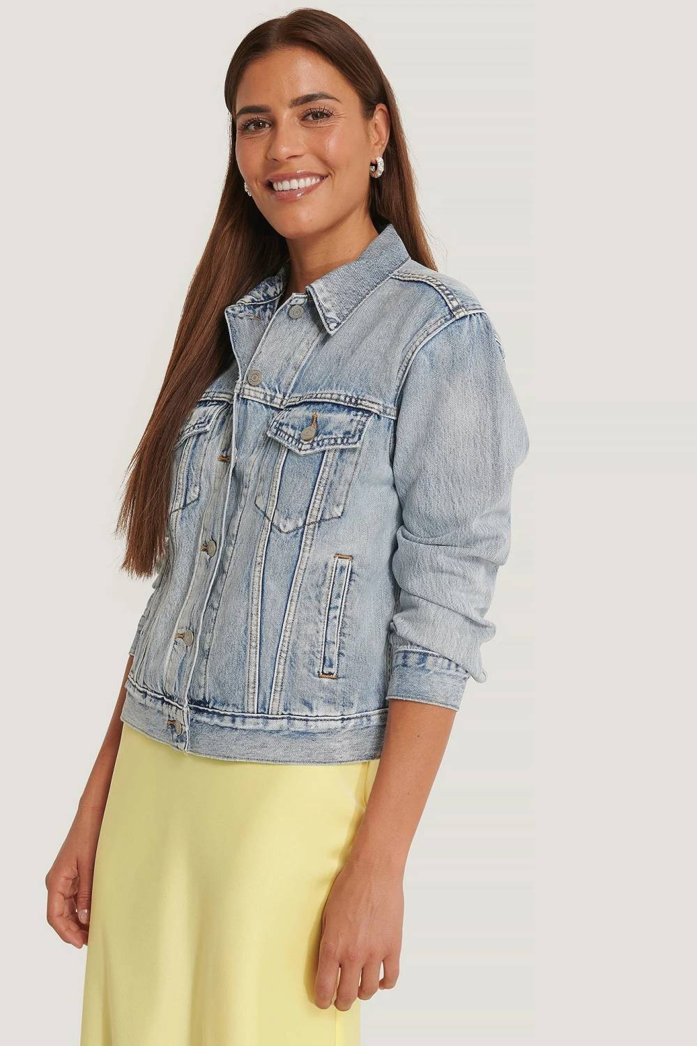 na-kd fashion women denim jacket