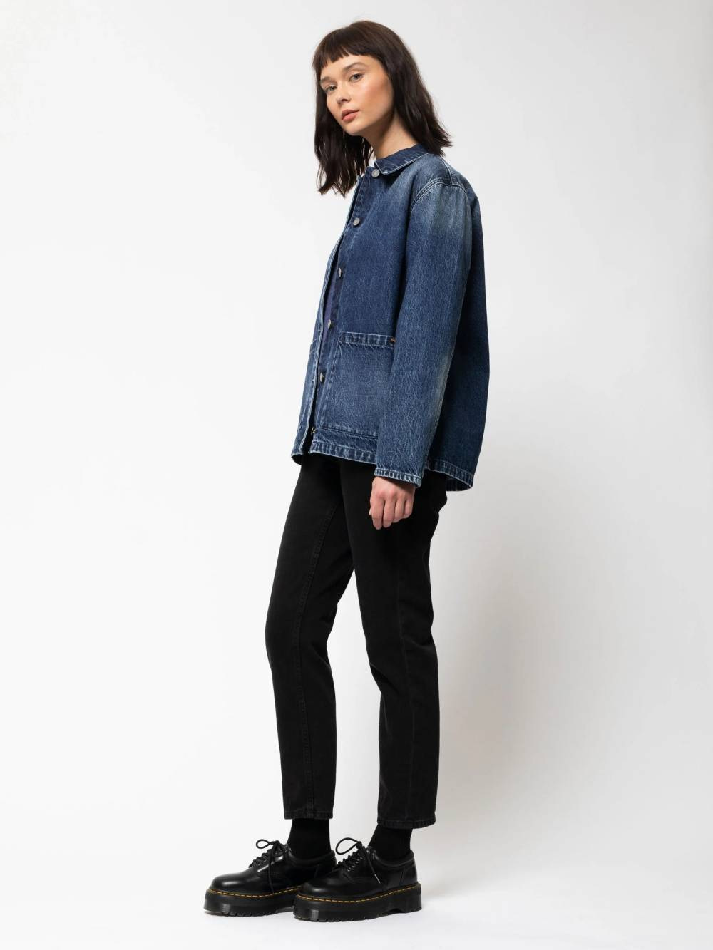 nudie jeans women denim jacket