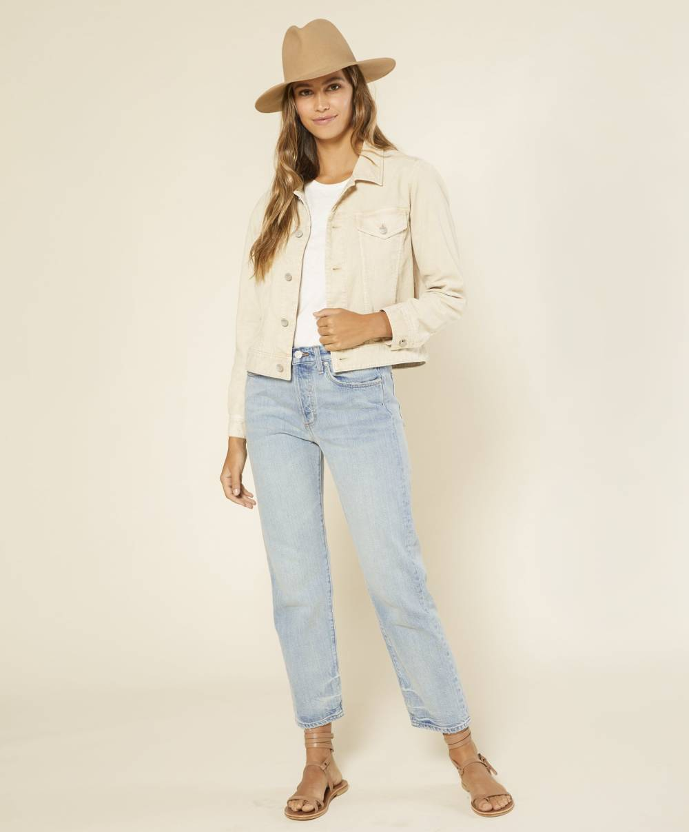 outerknown cheap womens denim jackets