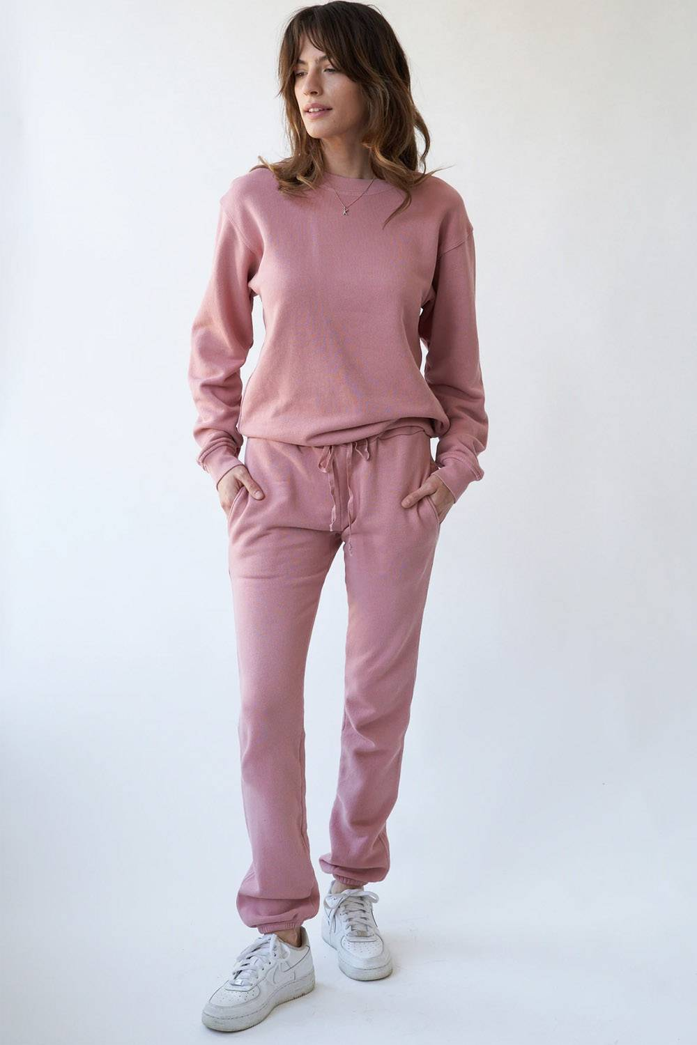 la relaxed sweatpants made in usa