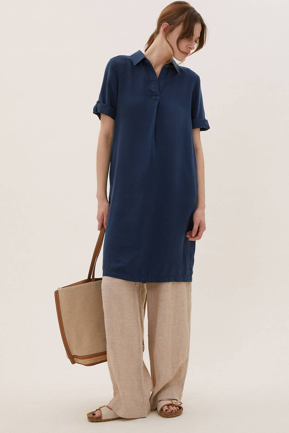 marks and spencer tencel clothing