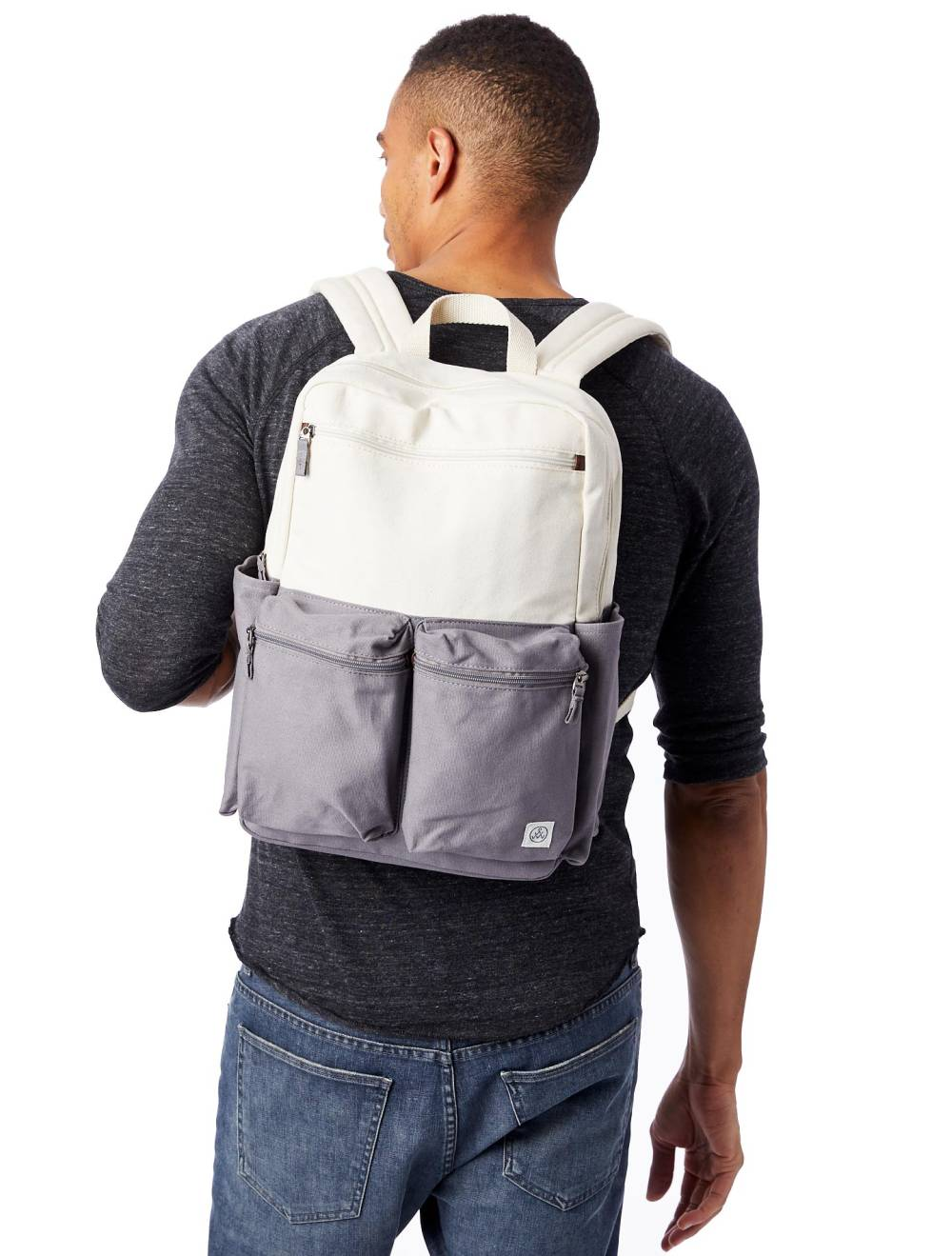 alternative apparel sustainable vegan backpack