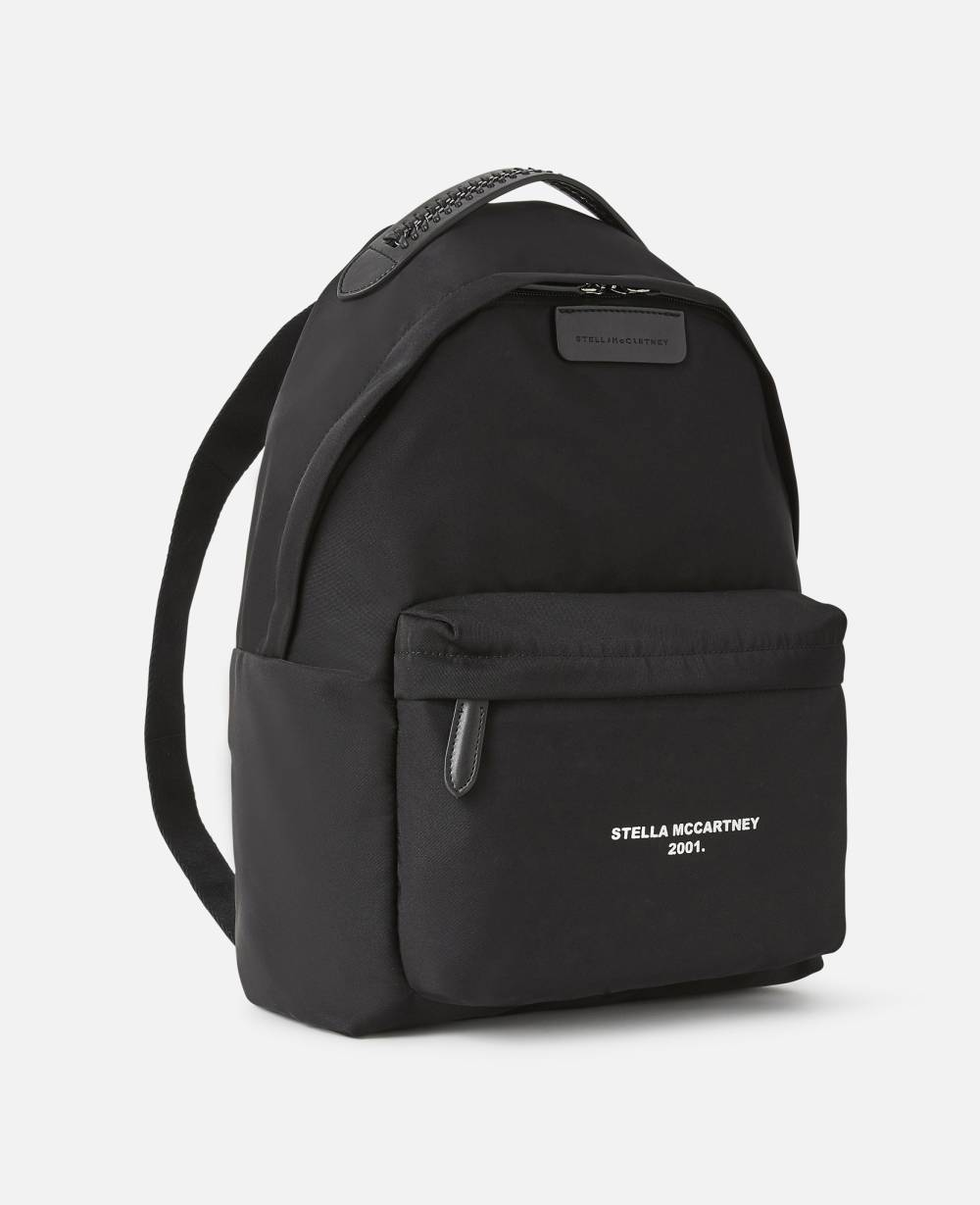 stella mccartney vegan leather backpack