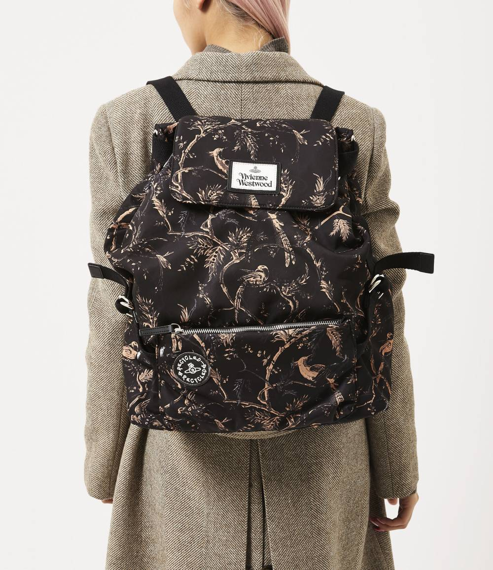 vivienne westwood affordable eco friendly backpack