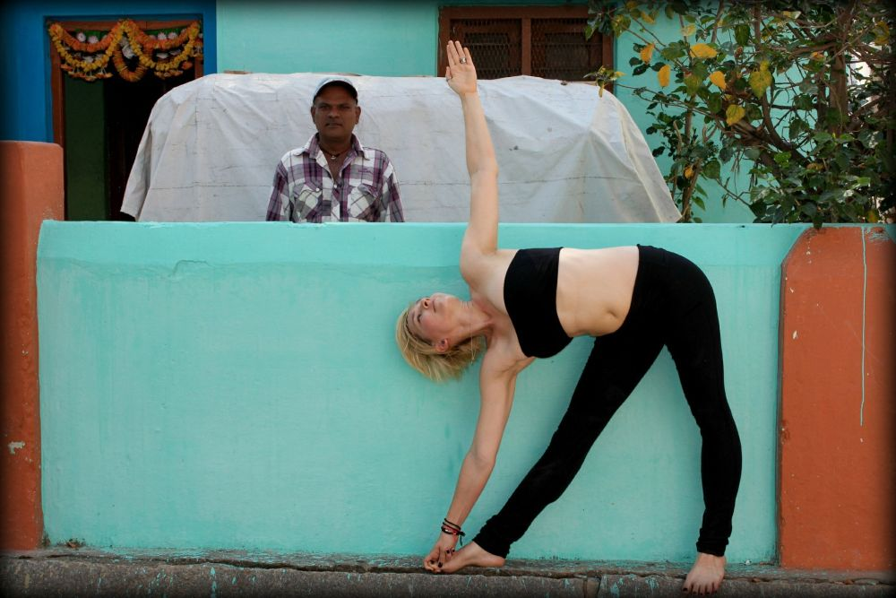 triangle pose ashtanga yoga benefits