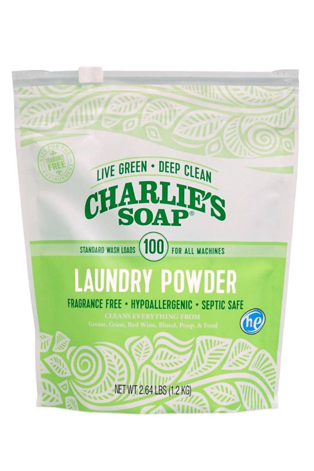 charlies soap green laundry detergent