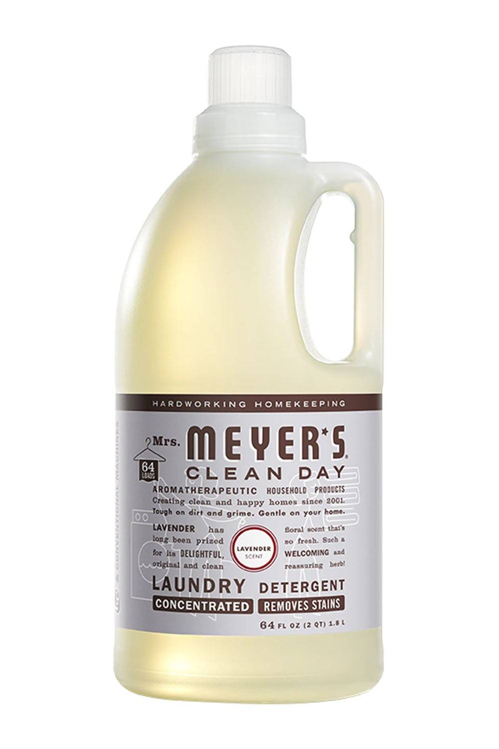 mrs meyers sustainable laundry detergent