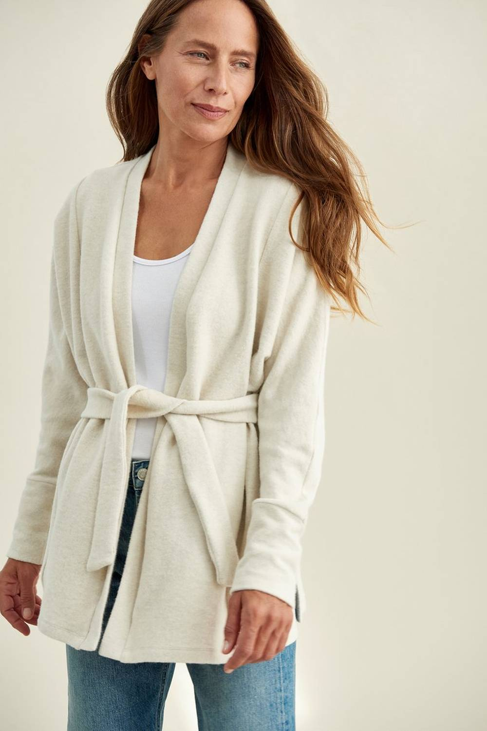 amour vert organic affordable cardigan