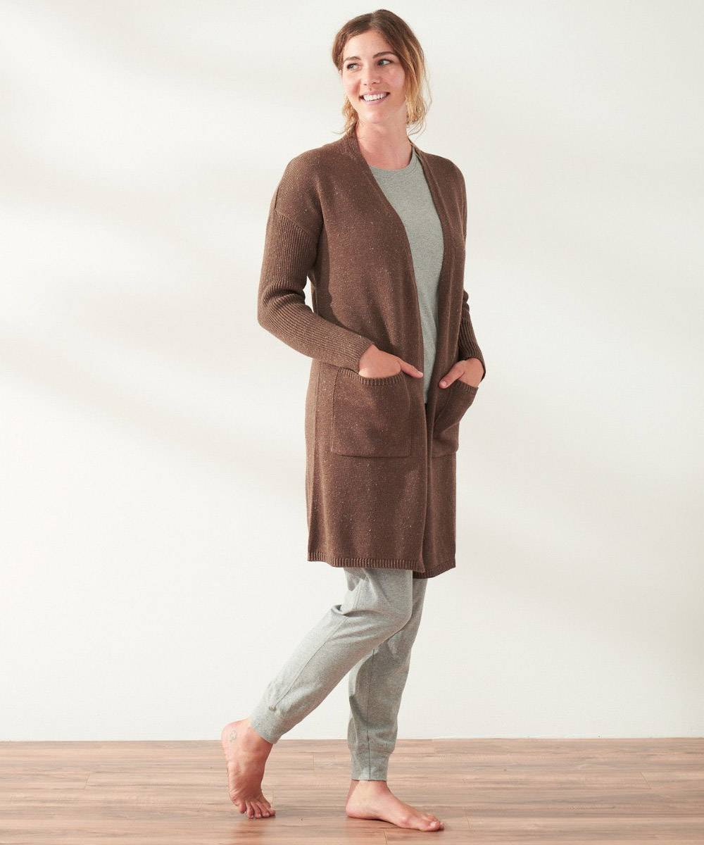 coyuchi sustainable affordable cardigan