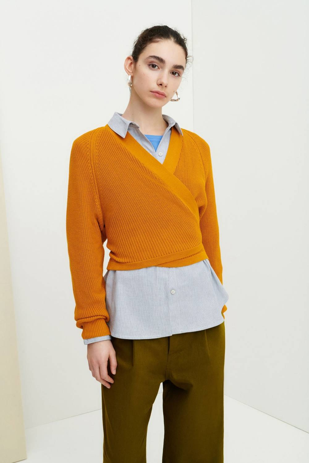 kowtow affordable sustainable cardigan sweater