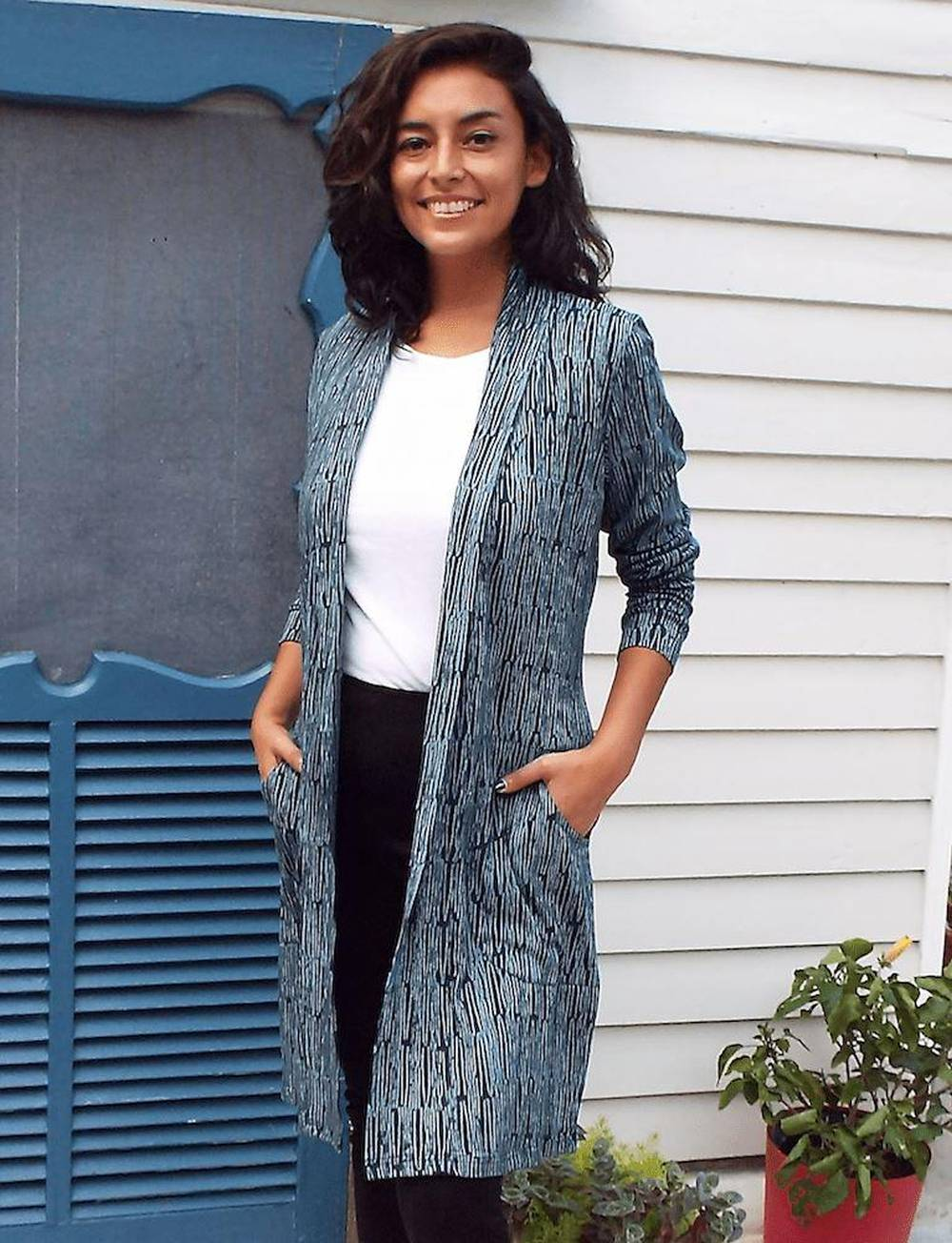 made trade sustainable affordable cardigan