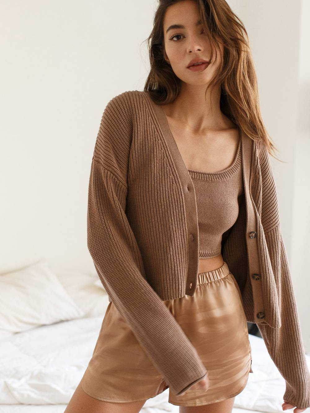 reformation ethical cheap cardigans