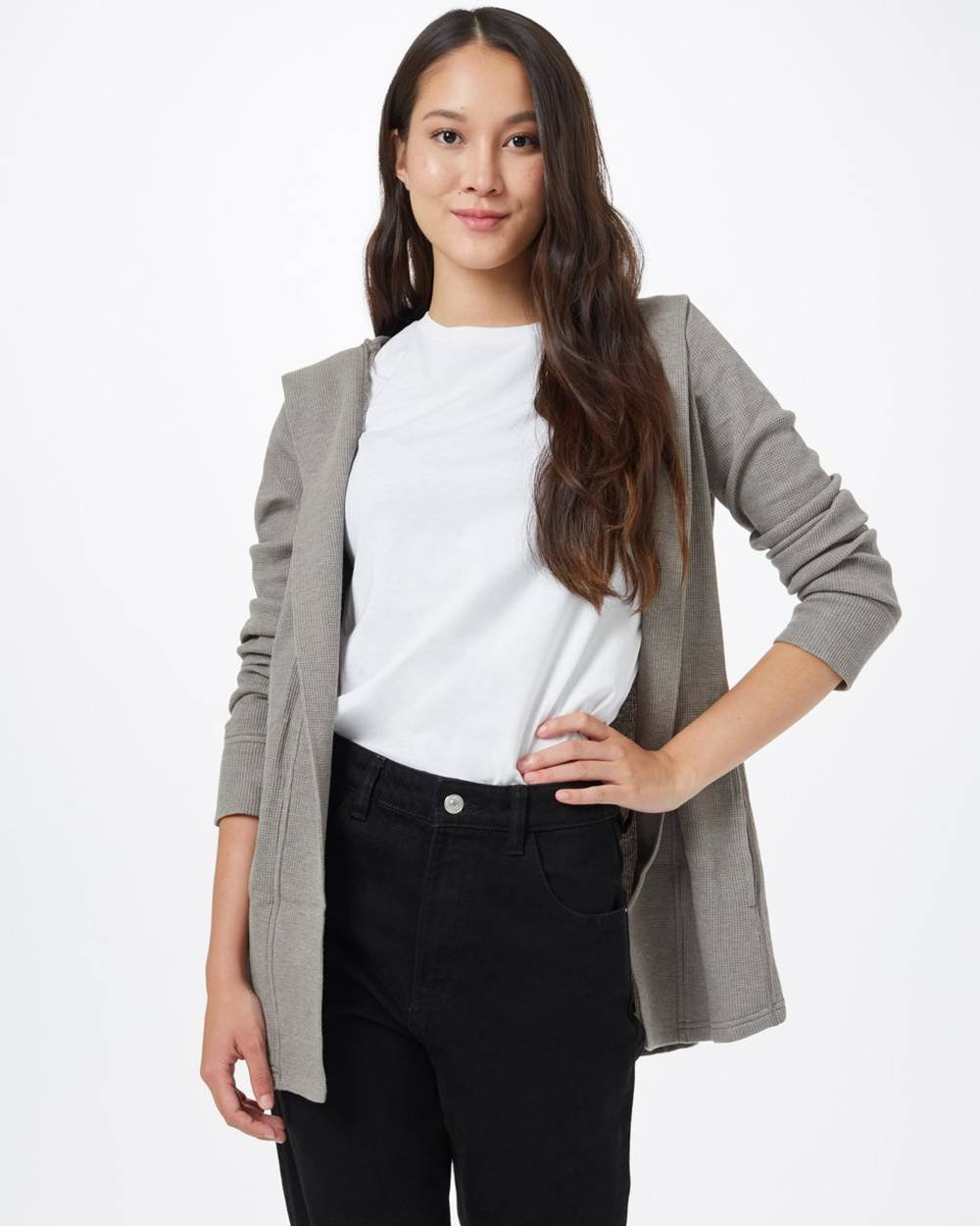 tentree sustainable affordable cardigan