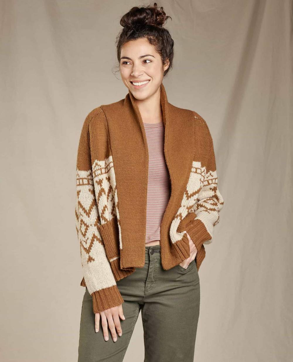 toadandco sustainable affordable cardigan