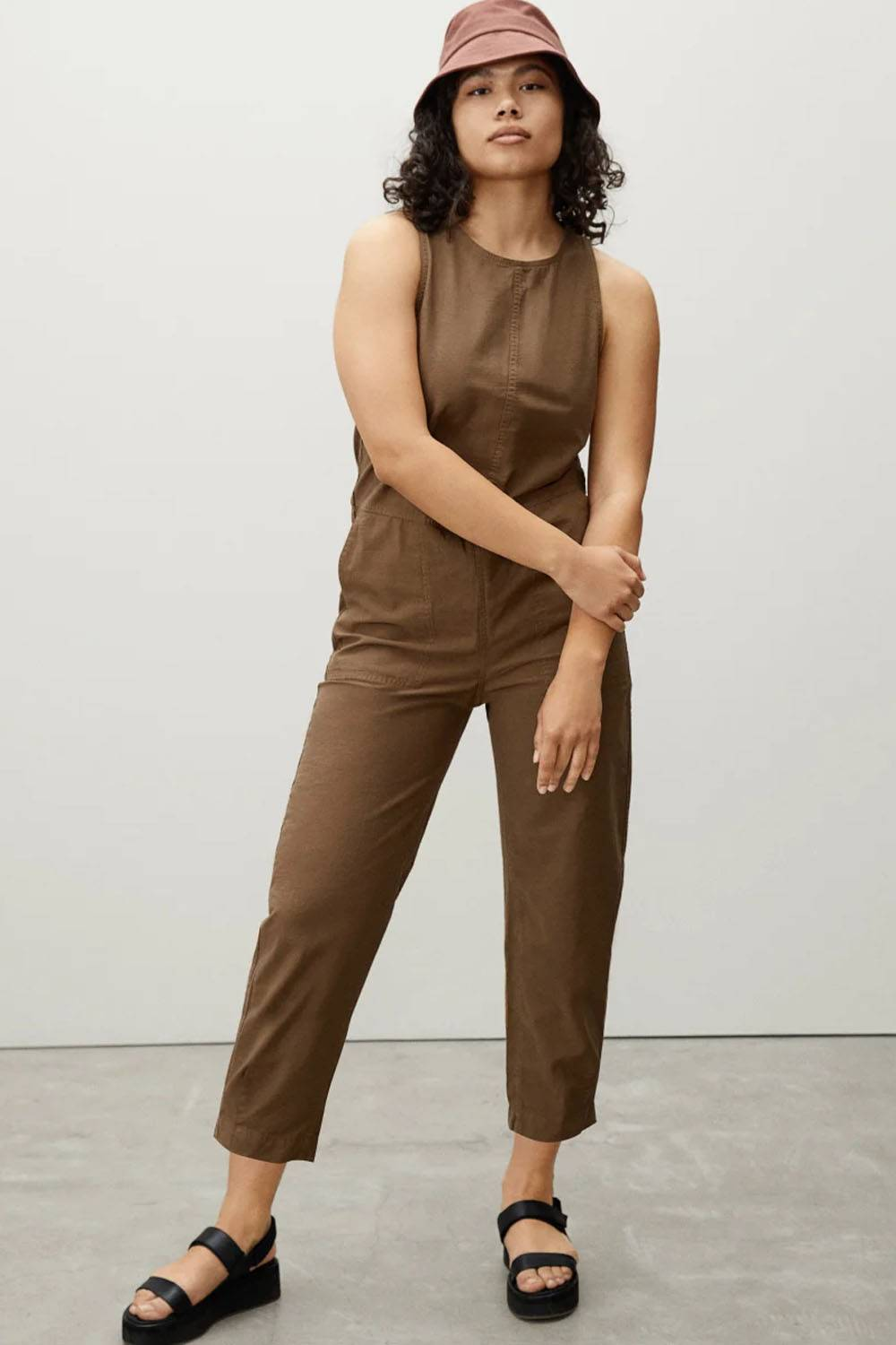 everlane affordable ethical women jumpsuit