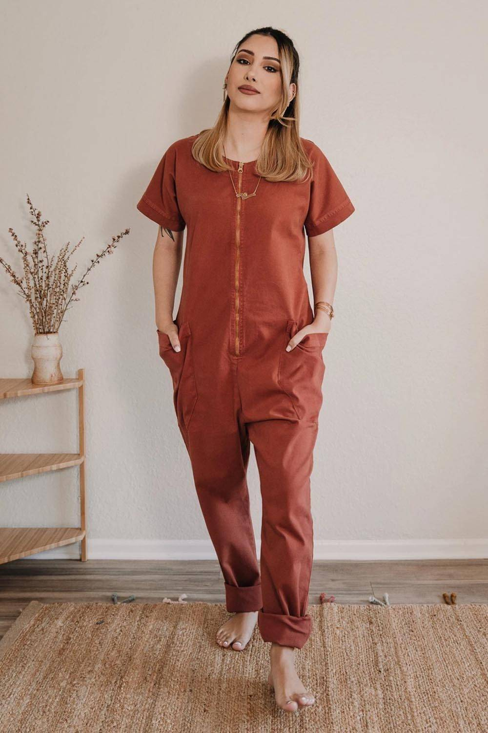 made trade cheap sustainable jumpsuit