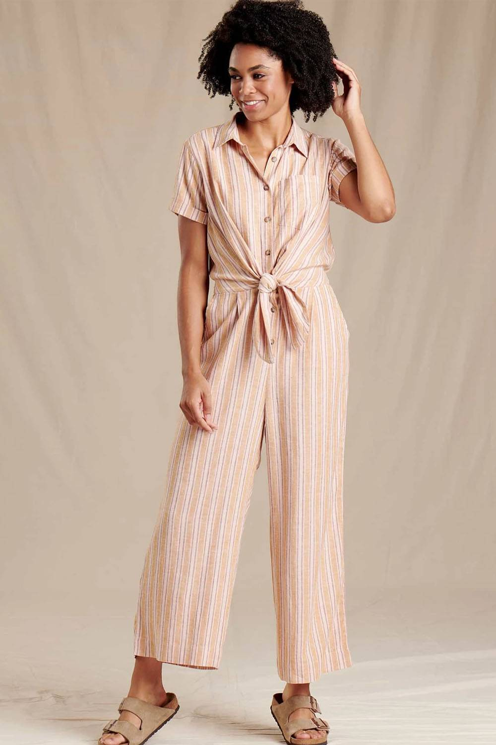 toad and co organic jumpsuit