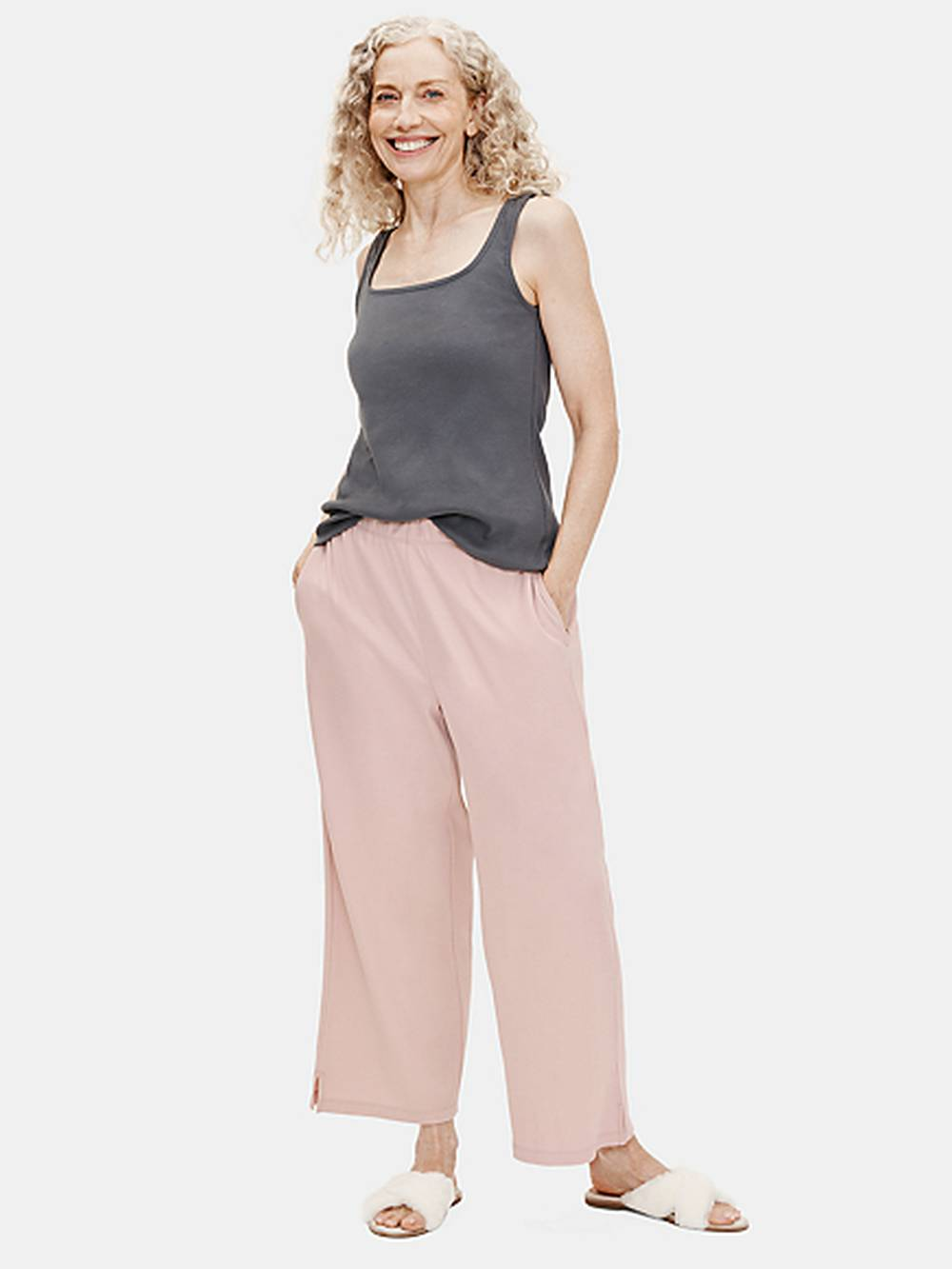 eileen fisher eco-friendly designer loungewear