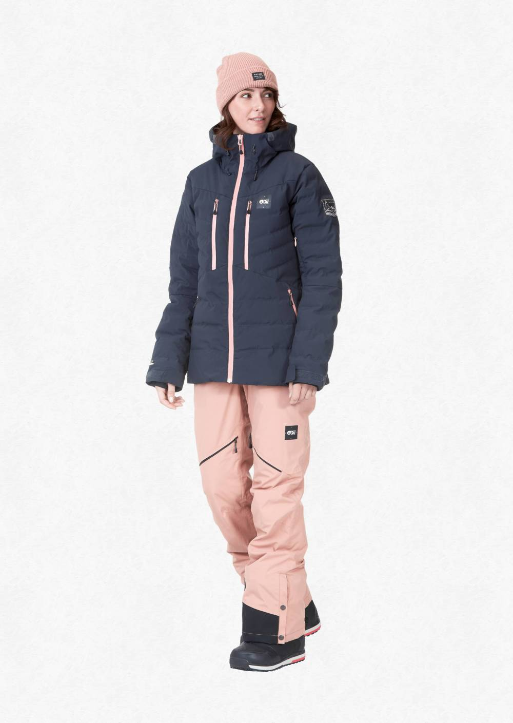 picture organic sustainable puffer jacket