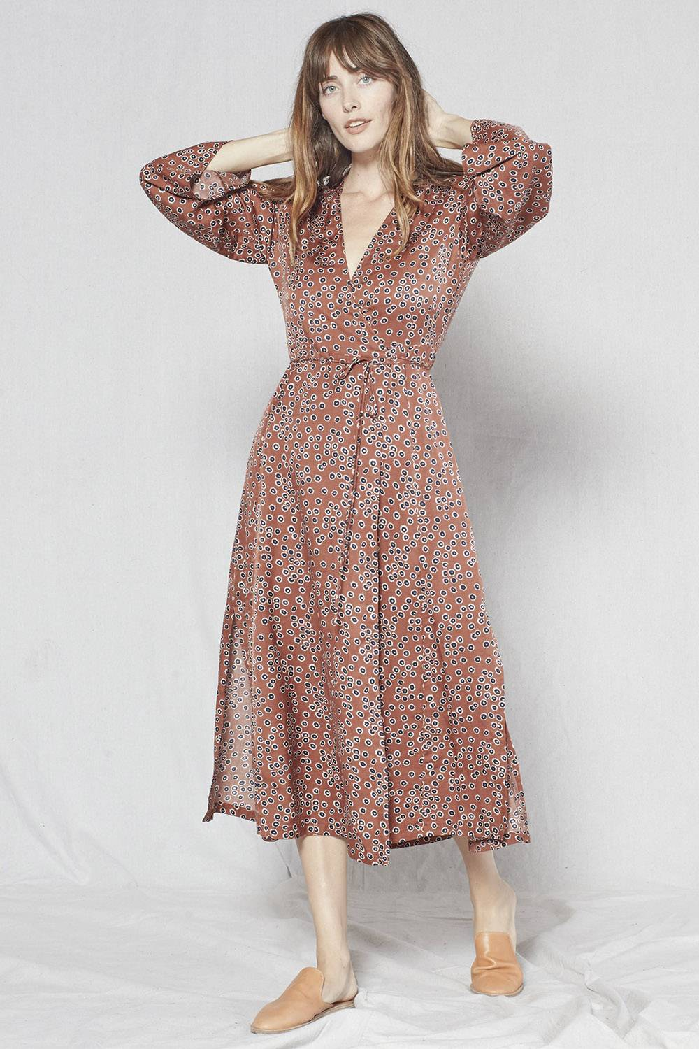 outerknown cheap ethical wrap dress