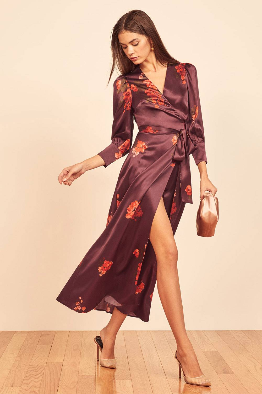 reformation affordable sustainable robe