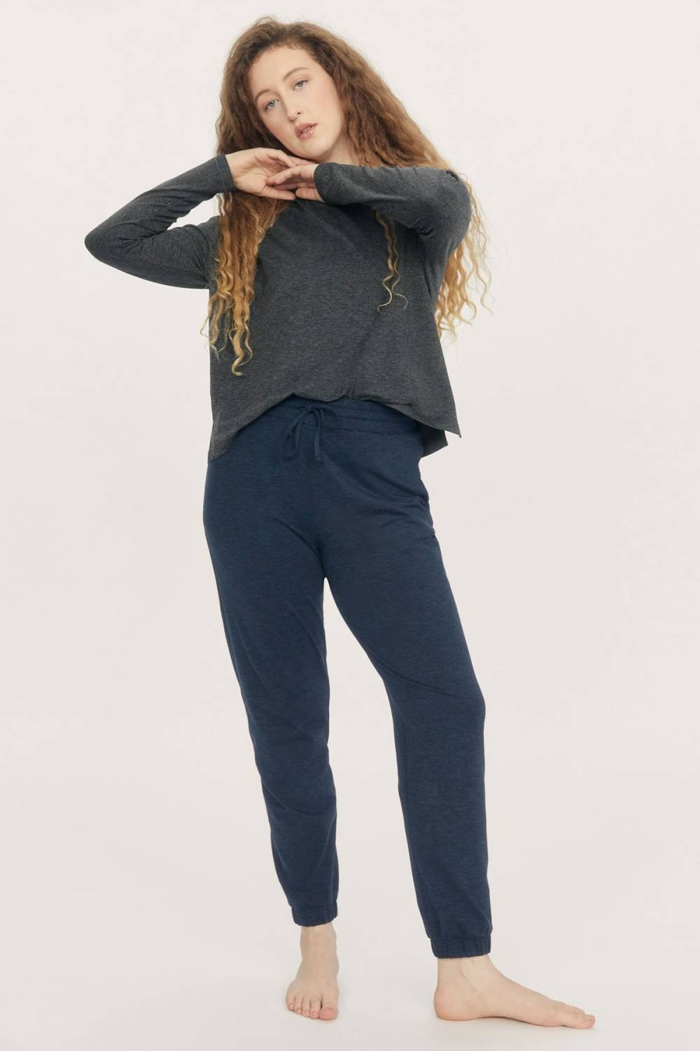 girlfriend collective cheap sustainable lounge pants