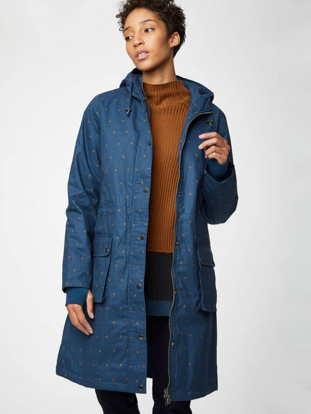 thought sustainable affordable winter parka