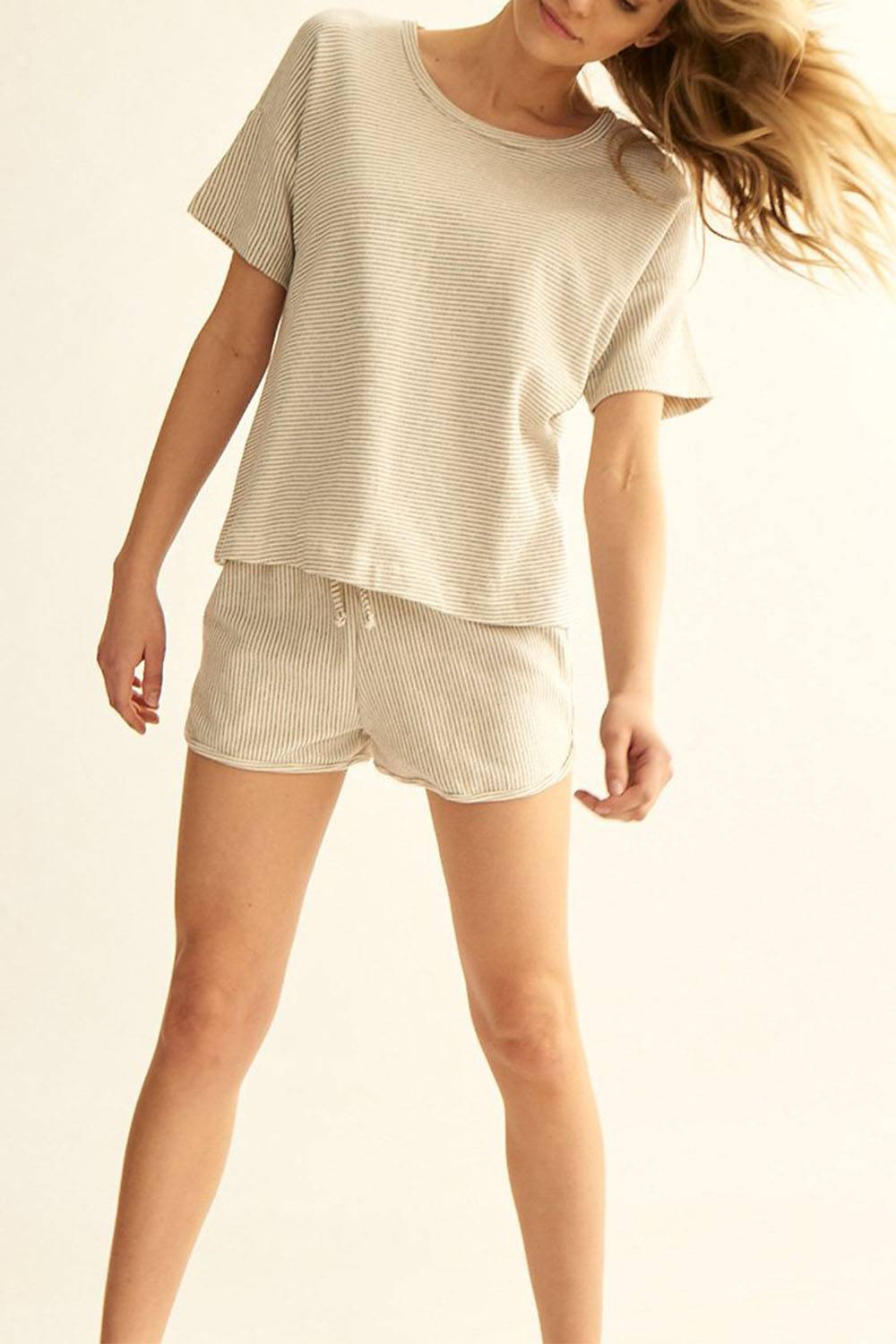 groceries apparel sustainable affordable cute lounge shorts